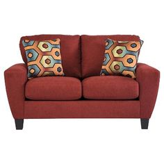 Sagen Loveseat - Ashley Furniture - Salsa