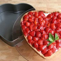 Aardbeientaart/ moederdagtaart