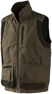 Ultimate Gilet: Heavy Canvas with Suede Trim (5 Year Guarantee) by Harkila