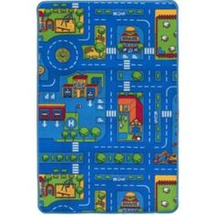 Buy Living Kids' New Roads Rug - 120 x 80cm at Argos.co.uk - Your Online Shop for Rugs and mats.