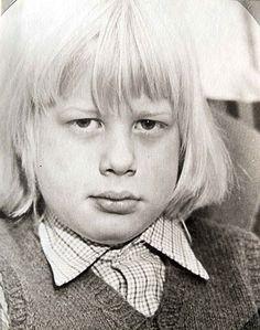 Boris Johnson as a boy