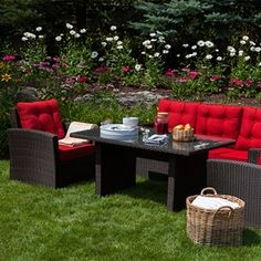 Meubles de jardin garden furniture on pinterest wicker for Club piscine outdoor furniture
