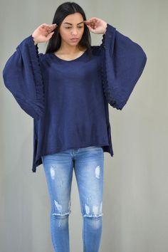 Γυναικεία μπλούζα με καμπάνα μανίκι MPLU-0895-bl   Μπλούζες > Bell Sleeves, Bell Sleeve Top, Tops, Women, Fashion, Moda, Fashion Styles, Fashion Illustrations, Woman