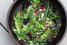 I am definitely making this Green Bean Salad - might even toss in some quinoa