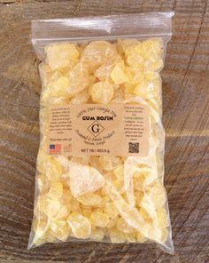 "1 lb. ""Rock Style"" Pine Gum Rosin / Colophony #DiamondGForestProducts"