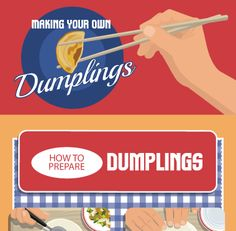 Dumplings Made Easy with 3 Recipes