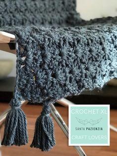 Haakwerk XL met Santa Pazienzia: Haak een prachtige deken in waaiersteek