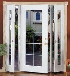 Ultra Series Swinging Patio Door With Sidelites By Kolbe