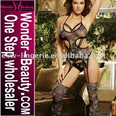 Sexy Camouflage Teddy Uppseedaisees Lingerie  Hey Allison Burcham Finley--something to add to your Camo Wedding!  LOL