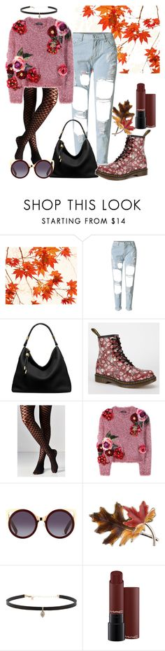 """""""D N G"""" by ankita-jha ❤ liked on Polyvore featuring WALL, Michael Kors, Dr. Martens, Out From Under, Dolce&Gabbana, Anne Klein and Carbon & Hyde"""