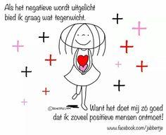 Negatief Positief - Jabbertje