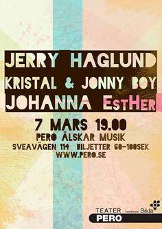 Pero Älskar Musik #TeaterPero #posters #poster #performance #music #event
