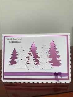 Sent to Debbie G - Weihnachtskarten - Damen un Mann Schonheit Homemade Christmas Cards, Christmas Cards To Make, Xmas Cards, Homemade Cards, Handmade Christmas, Holiday Cards, Christmas Crafts, Noel Christmas, Cricut Christmas Cards