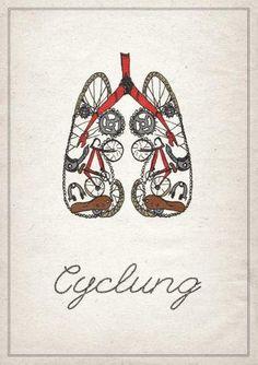 """Imagem especial para aqueles que """"respiram"""" bicicleta."""