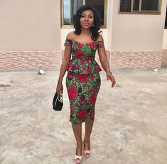 Your favourite collection of ankara -skirt and blouse styles and designs. When you look for ankara skirt and blouse styles this is where to come African Print Dresses, African Print Fashion, Africa Fashion, African Fashion Dresses, African Dress, African Attire, African Wear, African Women, African Style
