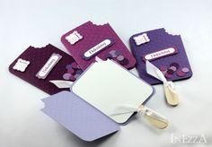 Einladungskarten - MaiFlieder 8 Einladungskarten Eis am Stiel Beeren - ein Designerstück von Inezza-Geschenke bei DaWanda