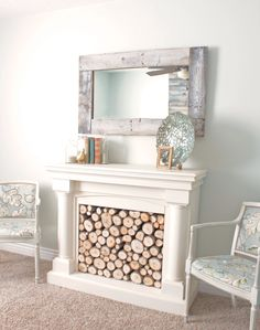 Pallet Mirror - this one is for you Marcie!