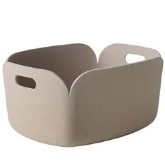 Buy the Muuto Restore Storage Basket in sand   Utility Design