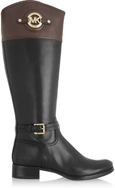 Amazing leather boots by Michael Kors