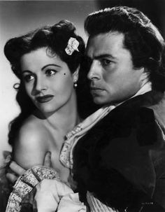 The Wicked Lady (1945): Margaret Lockwood and James Mason
