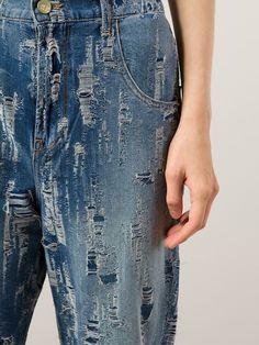 Made Gold Calça Jeans Boyfriend - H. Lorenzo - Farfetch.com