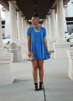 Royal Zara Dress