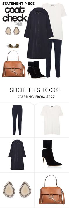 """Statement Piece: Coat Check"" by windrasiregar on Polyvore featuring Alexander Wang, The Row, Paul Andrew, Monique Péan and Chloé"