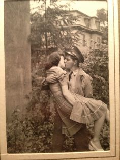 My favorite picture of my grandparents. My grandfather had just got back from war. - Imgur