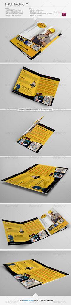 Bi-Fold Brochure 47 by Demorfoza    About this item Description: