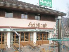 Restaurant at Heidiland Service Station, Switzerland Alps, Switzerland, Photo Galleries, Tours, Restaurant, Gallery, Places, Outdoor Decor, Pictures