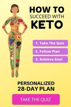 Starting Keto can be confusing. This makes it easy and shows how to start. Take the quiz and get your personalized plan. Starting Keto can be confusing. This makes it easy and shows how to start. Take the quiz and get your personalized plan. Health And Wellness, Health Tips, Health Fitness, Keto Meal Plan, Diet Meal Plans, Meal Prep, Comida Keto, Starting Keto, Ketosis Diet