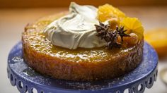 How to make the perfect Tunisian Orange and Almond Cake by Reza Mahammad on Food Network UK.