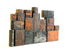Printer's Block Collection Langsenkamp Canning by veraviola, $125.00
