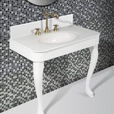 Retro 1, Vanity Bench, Bathroom, Furniture, Home Decor, Washroom, Decoration Home, Room Decor, Full Bath