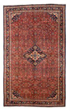 Bidjar Persia circa 1900 17ft. 3in. x 10ft. 8in. 525 x 325cm