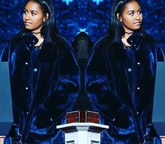 Sasha Obama The First Family Obama Attended The LAST & FINAL The National Christmas Tree Lighting The White House December 1, 2016 44th President Of The United States Commander In Chief