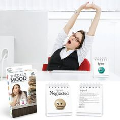 Office Gift Exchange? Fred and Friends the Daily Mood Flip Office Chart 47 Emotions Set Fred http://smile.amazon.com/dp/B0024OWHEW/ref=cm_sw_r_pi_dp_NZWcub0FBN83T