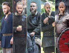 Ragnar Lothbrok: from farmer to king Vikings Show, Vikings Tv, Viking Bracelet, Viking Jewelry, Ragnar Lothbrok Vikings, Vikings Travis Fimmel, Thor, Medieval, Tv Shows