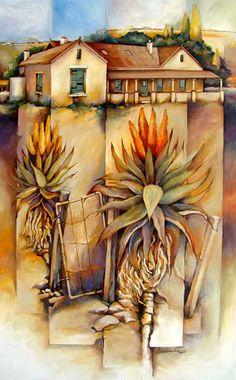 Artwork of Peter Wooldridge exhibited at Robertson Art Gallery. Original art of more than 60 top South African Artists - Since Easy Landscape Paintings, Realistic Paintings, Abstract Landscape Painting, Landscapes, Tree Artwork, South African Artists, Diy Canvas Art, Creative Art, Flower Art