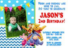 Winnie the Pooh Birthday Party Invitation  by FantasticInvitation, $8.99