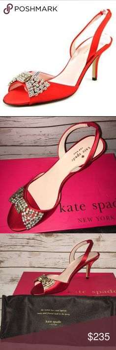👠👠kate spade new york Women's Miva Sandal👠👠 👠👠👠🌹🌹Gorgeous kate spade new york Miva Dress Sandals in Red...NWT🌹🌹🌹👠👠👠 kate spade Shoes Heels