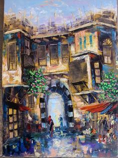 painting by Mohammed Tarifi