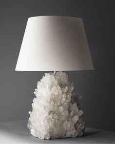 Liz O'Brien Lighting | Rock Crystal Lamp