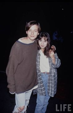 """"""" Edward Furlong and Jacqueline Domac, 1994 """" Body Reference, Photo Reference, Edward Furlong, John Connor, 90s Outfit, Action Poses, Beautiful Person, Actors & Actresses, Hollywood"""