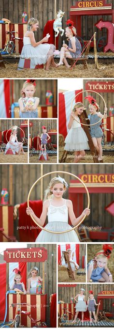 These two sisters were so FUN to work with. I CANNOT wait to work with them again. The Circus stare downs they gave each other were unbe...