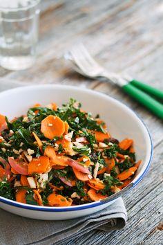 Mausteinen porkkanasalaatti - Kryddig morotssallad
