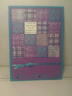 Quilt card 9