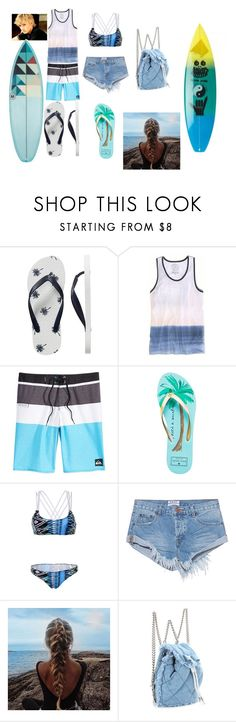 """swamis' cafe"" by lilahgirl101 ❤ liked on Polyvore featuring Gap, American Eagle Outfitters, Quiksilver, Kate Spade, WithChic, OneTeaspoon, Marc Jacobs and Salvatore Ferragamo"