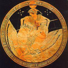 Selene, goddess of the moon.
