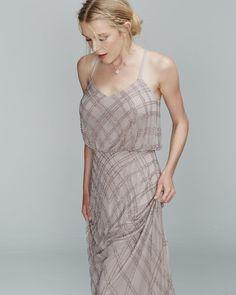 Trinity Beaded Dress #whiterunway #realrunway #bridesmaids #weddingfash #eveningwear http://whiterunway.com.au/trinity-beaded-dress-by-mr-k.html